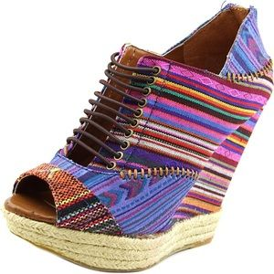 New Multi Color Make my day Wedges